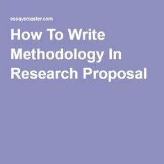Writing Chapter 3 Chapter 3: Methodology